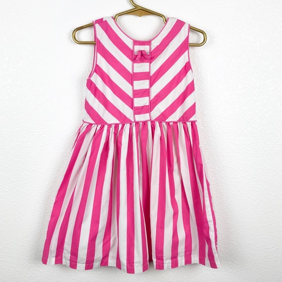 Gymboree Girls Floral Stripe Spring Dress 3T 4T NWT
